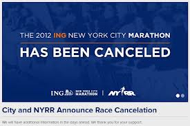 nyc marathon cancel